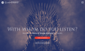 Spotify findet deinen Game-of-Thrones-Charakter per Musikgeschmack