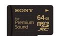 Sony presenta su tarjeta microSD para audiófilos extremos
