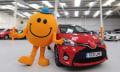 Toyotas kitzeliges Auto wackelt und weint vor Lachen (Video)