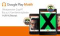 Google Play Musik: Familienabo in Deutschland verfügbar