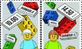 Lego: Noppenklötze kommen auf dänische Briefmarken