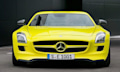 Mercedes Benz SLS E-Cell Prototyp hat 526 PS, soll 2013 in Produktion gehen