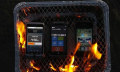 Grill-Contest: Windows Phone 7 gegen iPhone 4 und Android (mit Video)