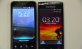 Sony Ericsson Xperia Arc vs. LG Optimus 2X / Speed... fight!