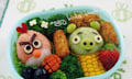 Angry Birds in der Bento Box
