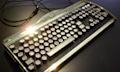 Datamancer New Yorker Art Deko Steampunk Tastatur