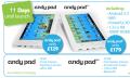 Andy Pad und Andy Pad Pro: Zwei neue Billig-Tablets im Video