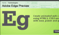 Adobe Edge Preview: Neues Webdesign-Tool für HTML5 und Co. geht in die Betaphase