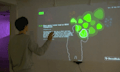NewsBlobs: mit Kinect durch die News rudern (Video)