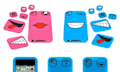 Faces Cases: Flexible Fressen für iPod touch