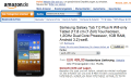 Samsung Galaxy Tab 7.0 Plus N: Bei Amazon als WiFi-only-Variante für happige 499 Euro