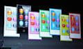 iPod nano 7te Generation: 2,5-Zoll-Multitouchscreen, Bluetooth und Homebutton