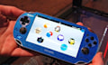 Hands-On: Sony PS Vita in Glitzerblau (Video)