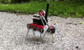 DIY: Steampunk-Hexapod stakst über den Feldweg (Video)
