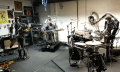Video: Botband Compressorhead übt