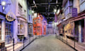 Diagon Alley aus Harry Potter auf Google Street View