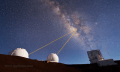 Timelapse-Video der Mauna Kea-Sternwarte auf Hawaii