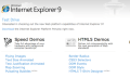 Internet Explorer 9 mostrado en el MIX10: Sin soporte para Windows XP, pero con HTML5