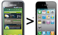 Samsung: El Retina Display del iPhone 4 es atractivo, pero peor que AMOLED