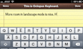 Octopus Keyboard, un teclado similar al de BlackBerry 10 para los iPhone con Jailbreak (vídeo)