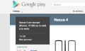 Nexus 4 blanco agotado en Google Play (y no volverá)