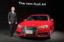 アウディ、プレミアムスポーツセダン「新型 Audi A4」を発表