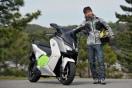 【試乗記】リニアな加速力で瞬発力のある走りが楽しめる!「BMW Motorrad  C EVOLUTION」:青木タカオ