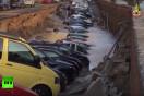 【ビデオ】フィレンツェの道路が陥没し、数十台のクルマが飲み込まれる!