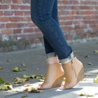 Really comfy booties you can wear in summer -- and take to fall!
