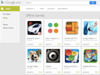 Google Play gets a section...
