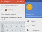 Gmail for Android could...