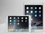 The iPad Air 2 and iPad mini...