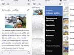 Wikipedia iOS app relaunches...