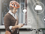 Volvo's bike helmet concept...