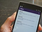 Yahoo Mail for Android now...