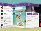 Viber's first major redesign...