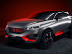 Peugeot's new hybrid concept...