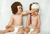 What having twins is really like - one year on