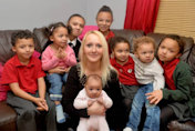 Mother of eight moans of being 'forced to work' by new benefit  cap