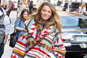 Pregnant Blake Lively's NY street style: Knee-high boots and miniskirt
