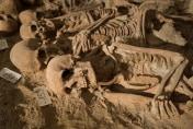 200 bodies found in mass grave below Paris supermarket