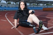 Schoolgirl amputee asks doctors to remove healthy leg - so she can run faster