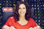 Julia Bradbury introduces twins Xanthe and Zena