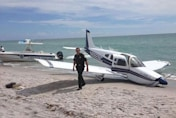 Family hit by PLANE on Florida beach