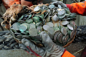 Treasure hoard sunk by Nazis discovered by divers