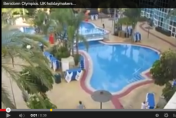 Video shows just how serious Brits are about bagging a sunbed by the pool