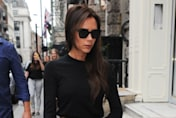 Victoria Beckham is super-stylish in leopard-print as she visits London store