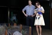 Royal Tour 2014: Prince George Meets The Easter Bunny At Taronga Zoo In Sydney (And It's Seriously Cute)