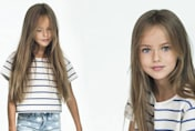 NINE-year-old 'supermodel'