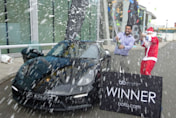 Man wins £50,000 Porsche and gives it to his parents